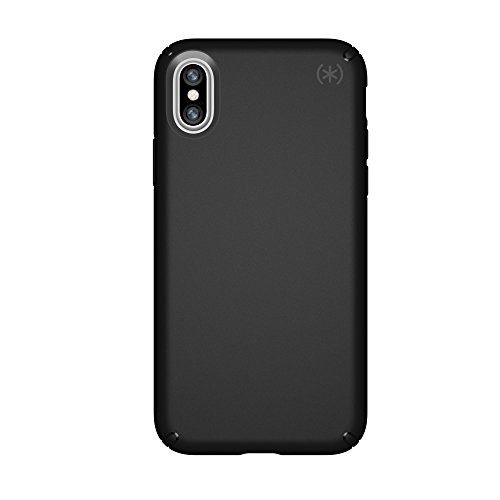 (Speck Products Presidio Case for iPhone XS/iPhone X, Black/Black)