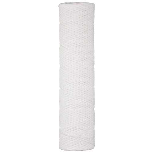 Parker 11R30 Fulflo Honeycomb Filter Cartridge, String Wound, Cotton FDA Grade Medium and Tinned Steel Core, 1'' ID, 2-7/16'' OD, 30-3/16'' Length, 50 Micron (Pack of 6) by Parker