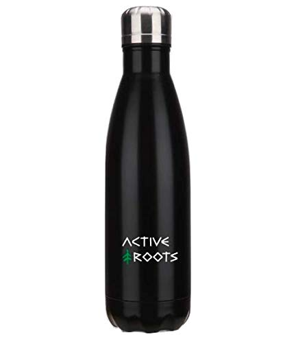 Active Roots Water Bottle | Double Walled, Vacuum Insulated, Narrow Mouth, Stainless Steel Water Bottle | Keeps Drinks Cold for 24 Hours & Hot for 12 Hours