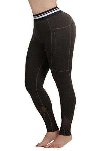 天のニッケル抗生物質curves leggings and tights PANTS レディース