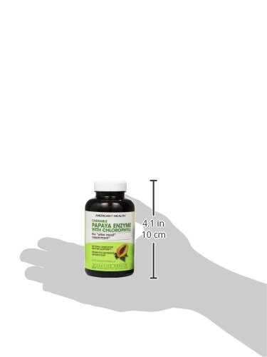 American Health Papaya Enzyme with Chlorophyll Chewable Tablets, 600 Count: Amazon.es: Salud y cuidado personal