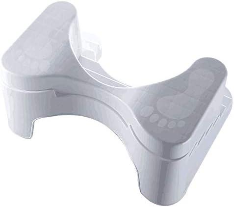 WDDMFR Hockender Badezimmerhocker, Rutschfester Toilettenhocker Gehhilfe für das Badezimmer Fußsitz für ältere Personen Schwangere Frau Kind Passt auf alle Toiletten