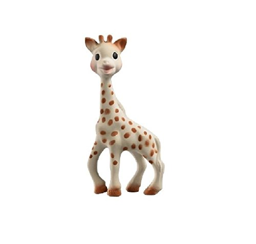 Lovely Kids Vulli Sophie the Giraffe Teether, Natural 1 ea Brand New by Love Greenland