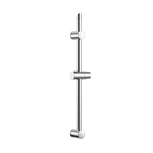 iBathUK | Round Hand Held Mixer Shower Holder Riser Rail Stainless ...