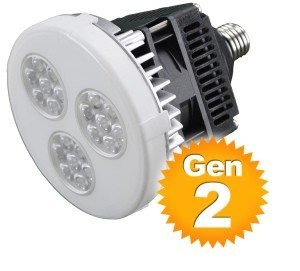 Global Tech Led Switchit Light  250W Par38 And 175W Mh Equivalent  Dimmable  Medium Screw Base  25 Degree Beam  2700K 80Cri