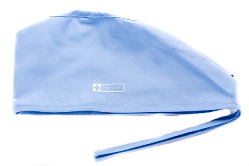 - DOKTORAM Surgical Scrub Cap Unisex Medical hat for Women and Men Skull Cap (Sky Blue)