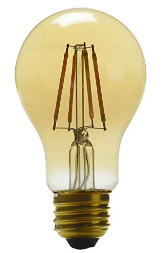 LED 60W Vintage Dimmable 4w Power =60W Amber White (2 Bulbs) by Utilitech