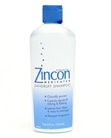 (ZINCON SHAMPOO Size: 8 OZ (Pack of 2) )