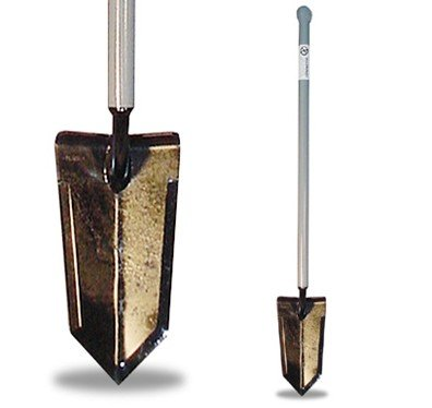 Lesche Sampson Pro-Series Shovel with Ball Handle for Metal Detecting and Gardening