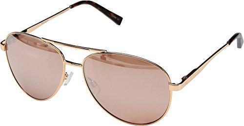 Steve Madden Women's Sm482166 SM482166 Aviator Sunglasses, Rose Rose Gold, 62 mm