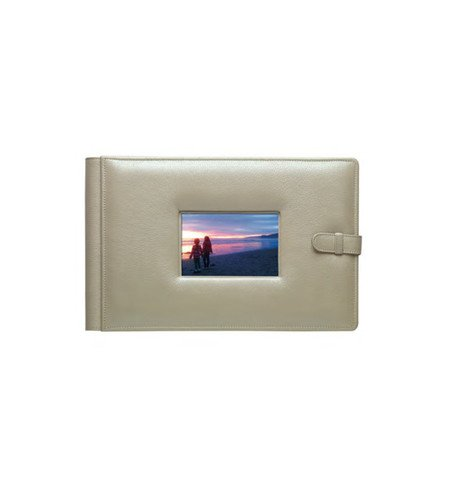 Raika HP 177 PINK Framed-Front Photo Album - Pink by Raika