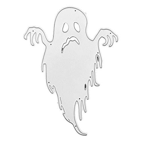 (lehaha - Halloween Ghost Metal Cutting Dies Stencil DIY Scrapbooking Album Stamp Paper Card Embossing Crafts)