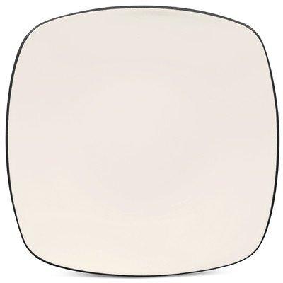 Noritake Colorwave Graphite Square Dinner Plate