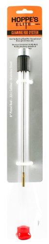 Hoppe's Elite Stainless Steel Cleaning Rod.22+ Caliber Pistol (Hoppes Universal Bore Guide)