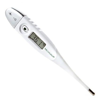 Medisana FTF - Termómetro digital con punta flexible, medición precisa de la temperatura corporal,