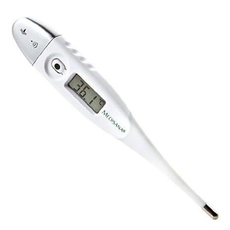Medisana FTF - Termómetro digital con punta flexible, medición precisa de la temperatura corporal, color blanco y gris plata: Amazon.es: Salud y cuidado ...