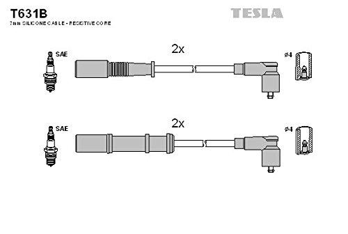 Tesla T631B Kit cavi accensione
