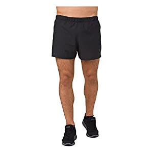 "ASICS Men' Cool 3.5"" Short, Performance Black, Medium"