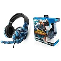 GAMES WORLD Headphones for Playstation 4,5 and XBOX,