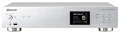 """Pioneer Elite N-50 Network Audio Player with Airplay and DLNA 1.5 iPhone or Android Control and 2.5"""" Full-Color LCD Display."""
