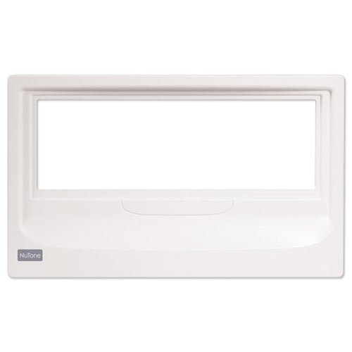 NuTone NF100MWH Master Retrofit Frame for NM series - White Nutone Intercom