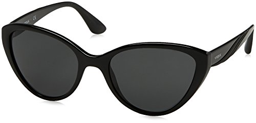 Vogue VO5105S Sunglasses W44/87-55 - Black Frame, - Vogue Men Sunglasses