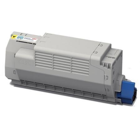 Akia – Mc 780 dnf – Toner kompatibel Oki 45396201 – Toner Gelb