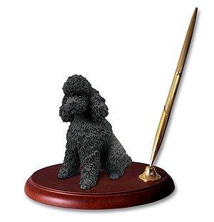 Poodle Sportcut Dog Desk Set - - Dog Desk Set