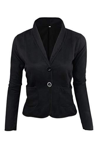Corto Slim Cappotto Fit Blazer Autunno Moda Casuale Primaverile 8Yq6nw4U4