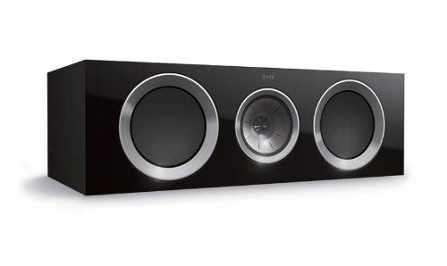 KEF R600c Center Channel Loudspeaker - Walnut (Single) by KEF
