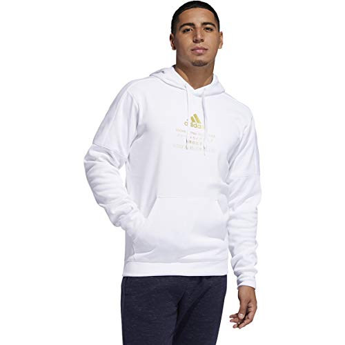 adidas Men's Must Haves Badge of Sport Pullover French Terry