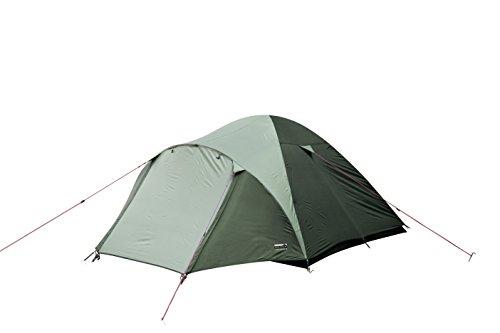 31va4b8iEnL High Peak Kuppelzelt Nevada 4, Campingzelt mit Vorbau, Iglu-Zelt für 4 Personen, doppelwandig, wasserdicht…