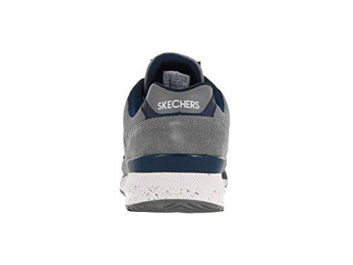 Skechers Og 90, Men's Low-Top Sneakers Gray/Navy