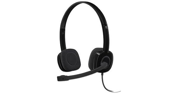 4431579e177 Amazon.com: H151 Binaural Over-The-Head Stereo Headset, Black: Electronics