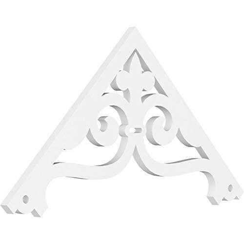 Ekena Millwork GPP036X018X100FIN Gable Pediment, 36
