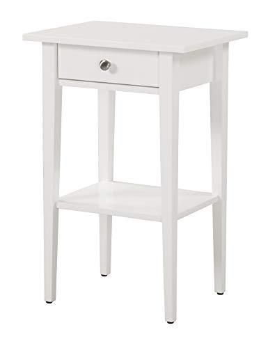 Glory Furniture Dalton , White Nightstand, SIDE TABLE 28