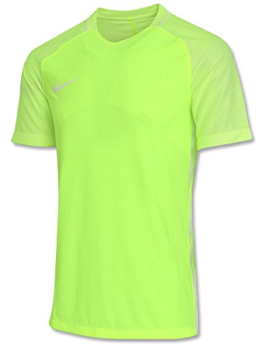 爬虫類つかまえるずるいNIKE ナイキ エアロスイフト ストライク スポーツシャツ サッカーウェア S/S XLサイズ(176-185cm) 国内正規品 725869 ボルト