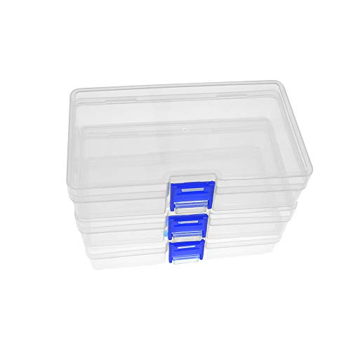 (Plastic Small Organizer Container Box with Lid)