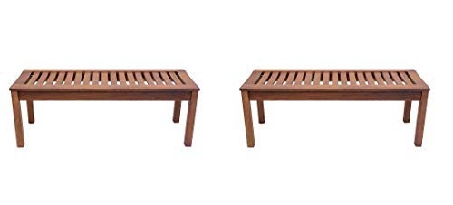 Achla Designs Backless Bench, 4-Foot - OFB-08 (Pack of 2) ()