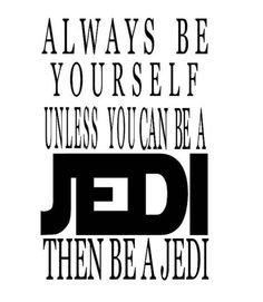 Jedi Luke Skywalker Yoda Star Wars Inspired Vinyl Decal Sticker|BLACK|Cars Trucks Vans SUV Laptops Wall Art|5.25