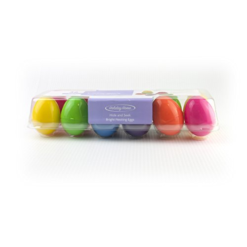 Hide n Seek Nesting Plastic Eggs Eggs Eggs - Bright (36ct) by Holiday Home by Holiday Home 9f97f3