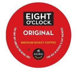 Free EIGHT O'CLOCK COFFEE ORIGINAL BLEND 120 K CUPS