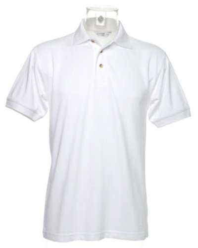 Kustom Kit - Polo - para hombre Blanco blanco small