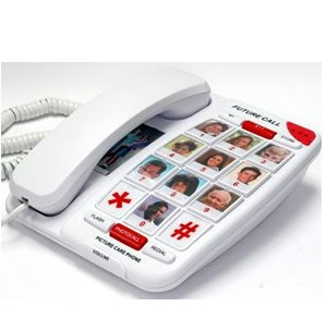 Future-Call FC-1007PD Picture Phone with Parallel Dialing 40dB ()