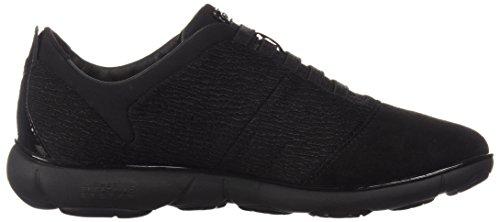black C9999 Geox D Negro C Para Mujer Zapatillas Nebula CTSwHqxgv