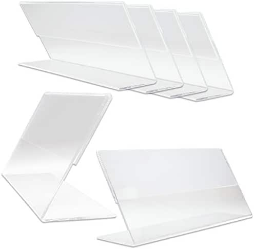 Beauticom Cosmetology/Business Table Top Licensed Holder (Acrylic Made Quality) (Quantity: 6pcs)