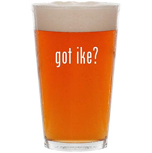 got ike? - 16oz All Purpose Pint Beer Glass (Mike And Ike Tangy Twister Jelly Beans)