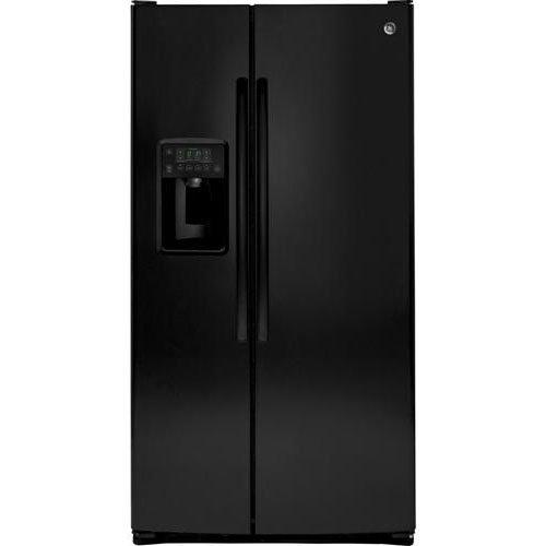 Ge Black Side By Side Refrigerator - 8