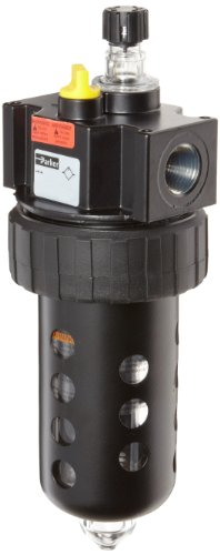 Parker 17L42BE Lubricator, Polycarbonate Bowl with Metal Bowl Guard, No Drain, 90 scfm, 3/4'' NPT by Parker
