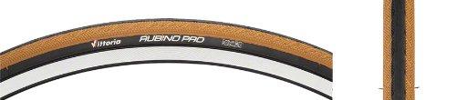 Vittoria(ヴィットリア) Rubino(ルビノ) Pro 3 Folding Clincher Tyre B0038W8RD4 ハニー/ブラック ハニー/ブラック